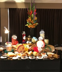 buffet catering set up - Chilli Manis Catering from Chilli Manis Catering