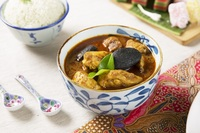 chicken curry with rice - Chilli Manis Catering from Chilli Manis Catering