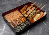Yakitori Bento from Nanbantei Japanese Restaurant