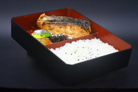 Salmon Teriyaki Bento from Nanbantei Japanese Restaurant