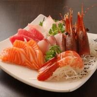 5 Types Sashimi from Tsukiji Central