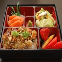 (Chicken) Japanese Style Lunch Box from Tsukiji Central