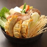 Pork Dumplings Mixed Vegetable Hot Pot Set from Tsukiji Central