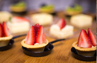 dessert canapes - <Grain> Catering Photo from Grain
