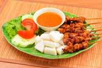 Chicken Satay from Ayam Bakar Ojolali