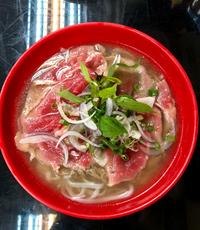 Raw Beef Noodle Soup from Viet Chiu Vietnamese Restaurant
