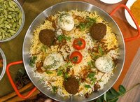 Mutton Kofta Biryani from Mr Biryani