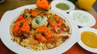 Prawn Biryani from Mr Biryani