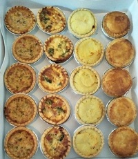 Customer Susannah - Assorted Quiche & Pies Party Platter from Swissbake