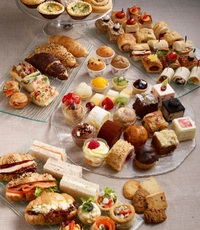 Sweet and savoury party platter from Swissbake