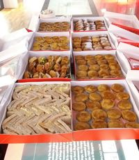 Luscious Party Combo,Sweet Temptation Platter, Mini Shepherd's Pies,Mini Creamy Chicken Pies - Customer Ang Elsie from Swissbake