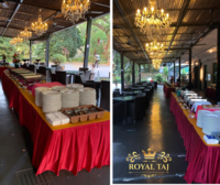 buffet catering event setup - Royal Taj Catering from Herbs and Spices