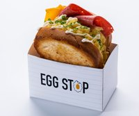 Chicken Ham & Cheese Sandwich from Egg Stop