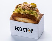 Smoked Chicken Sandwich from Egg Stop