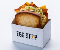 Turkey Bacon & Cheese Sandwich from Egg Stop