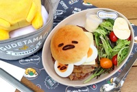 Bo Chup Burger from Gudetama Cafe Singapore