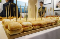 Canapes Catering Sliders - Skyve Wine Bistro from Skyve Wine Bistro