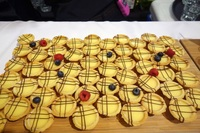 Canapes Catering Egg Tart - Skyve Wine Bistro from Skyve Wine Bistro