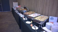 buffet Catering Set up - White Tangerine from Makan City