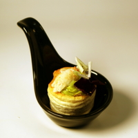 Crabmeat and Avocado Mousse Vol-Au-Vent from U Catering