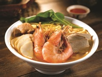 Penang Culture Catering - Penang Hokkien Prawn Noodle with Big Prawn from Penang Culture