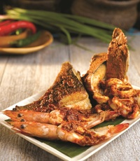 Penang Culture BBQ Catering - Premium BBQ Seafood Platter for 2 from Penang Culture