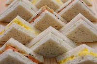 Gourmet Finger Sandwiches from Rocky Master
