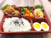 Chicken Chop Rice Bento from Lazy Japanese Catering