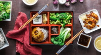 Bento Boxes from Lazy Japanese Catering