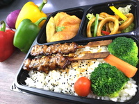 Yakitori Bento from Lazy Japanese Catering