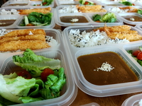 Ebi Fry Jap Curry Bento from Lazy Japanese Catering