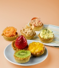 Fruit Tartlets and Tart Canapes - <Delifrance> Catering Photo from Delifrance