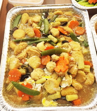 Beancurd Mix Veg Mini Buffet from Wangzai Catering (Asian Specialist)