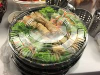 Customer Siti, Assorted Vietnamese Rolls from The Orange Lantern Restaurant
