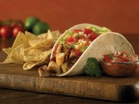 Chicken Tacos from Baja Fresh Mexican Grill