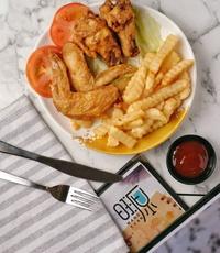 Chicken & Fries from Wang Yuan Cafe