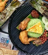 Classic Nasi Lemak Fried Chicken from Wang Yuan Cafe