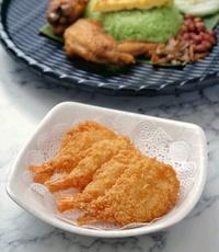 Crunchy Fried Butterfly Prawns from Wang Yuan Cafe