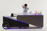 Y Luster Mobile Cart from Y Cocktail & Mocktail