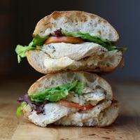 Rosemary Chicken Sandwich from Bread Yard
