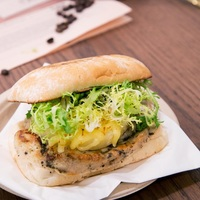 Grilled Chicken and Pineapple Ciabatta  from The Coffee Academics