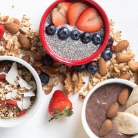 Acai Bowl Selection from Nood Food