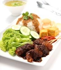 Chunky Satay from Gado & Grill