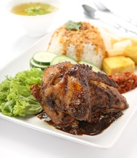 Grilled Chicken from Gado & Grill