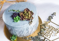 From birthdays to other joyous occasions, make an unforgettable impression with our customized cake for your party! from La Bonnie Patisserie