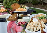 Outdoor Buffet from Shamrock Catering