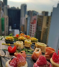 Canapes from Shamrock Catering