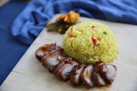 Char Siew with Pineapple Rice from Evil Gourmet