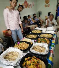 Customer Teo - Fatt Choy Mini Buffet catering (with Yu Sheng) - Stamford Catering from Stamford Catering