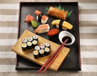 Assorted Sushi Platter - <Stamford Catering> Catering Photo from Stamford Catering